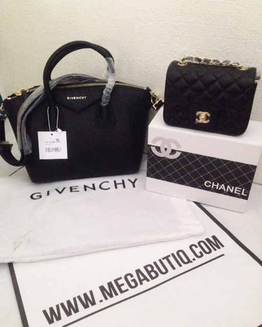 GIVENCHY ANTIGONA, CHANEL MINI