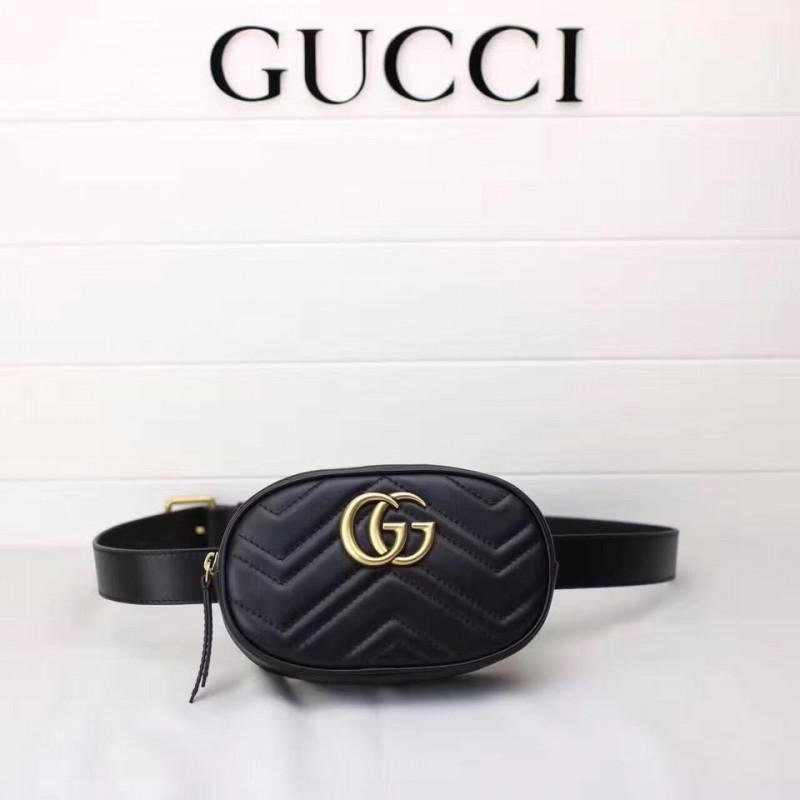 GUCCI WAISTBAG MARMONT MATELASSE