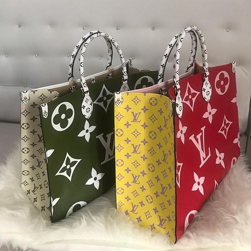 LV ON THE GO TOTE BAG