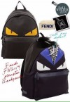 FENDI BACKPACK FUR MONSTER